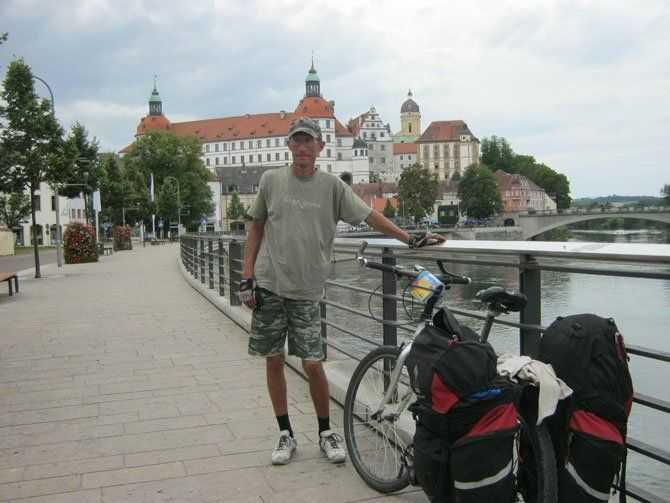 Олексій Пізник проїхав на велосипеді 2400 кілометрів