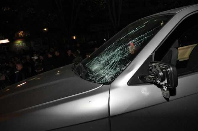 У Тернополі ледве не стався самосуд над водієм-вбивцею