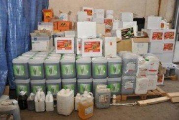 Хімікати відомих брендів підробляли у Тернополі