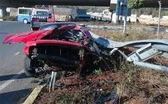 розбита машина Мілевського