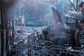 Ще одна тривожна ніч у Києві. Від дзвонів Михайлівського – волосся дибки