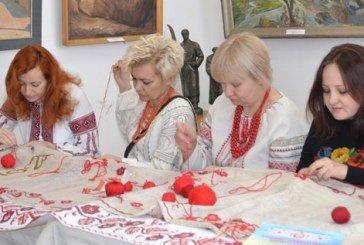 У Тернополі вишивали рушник Кобзарю