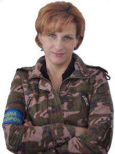 Марія Чашка: «До тернопільських загонів самооборони долучаються жінки»
