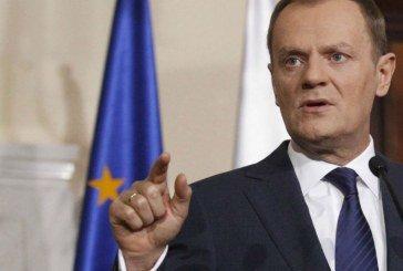 Туск заявив, що в Україні вперше в історії люди віддавали життя заради європейської інтеграції