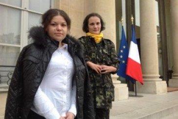 Олеся Жуковська зустрілась із Президентом Франції