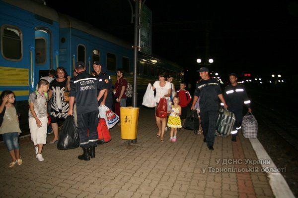 На Тернопільщину вже прибули 508 переселенців