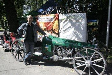 Тернополянин Сергій Кузнєцов створив унікальне авто «Патріот»