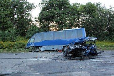 На Тернопільщині смертельна ДТП: легковик зіткнувся з рейсовим автобусом