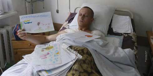 Врятований під Дебальцевим тернополянин: «Коли прийшов до тями, рука вже була ампутована по плече»