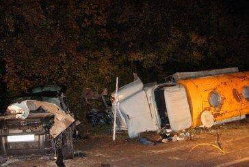 На Тернопільщині в масштабній автокатастрофі зіткнулися три автомобілі