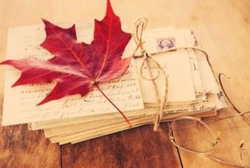 Осінь пише коханим листи…