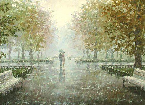 Дощ - на щастя