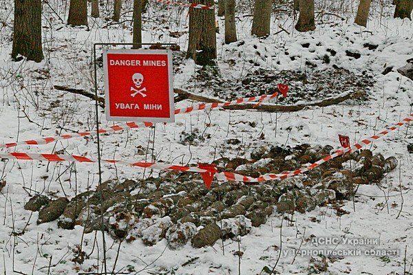 На Тернопільщині шукачі металу збиралися підірвати біля села сотню бойових снарядів
