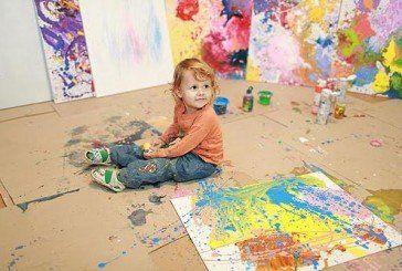 У Тернополі відкриють виставку дворічної художниці