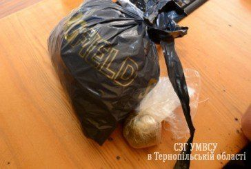 Тернопільський хуліган пояснив міліціонерам, що заплічник із наркотою знайшов на смітнику (ФОТО, ВІДЕО)