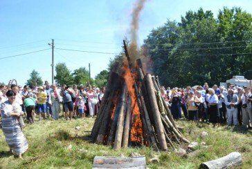 На Тернопіллі запалили лемківську ватру миру (ФОТОРЕПОРТАЖ)