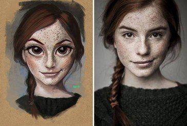 Художник перетворює фотографії випадкових людей в дивовижні ілюстрації (ФОТО)