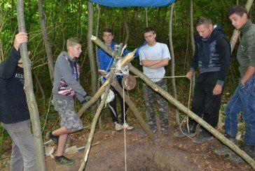 На Бережанщині відновлюють криївку (ФОТО)