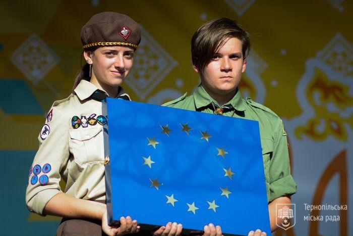 Тернопіль – єдине місто в Україні, яке цього року нагороджене Почесною Таблицею Ради Європи (ФОТО)