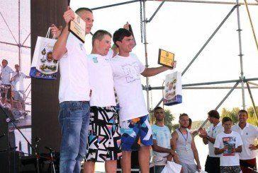 У Тернополі нагородили переможців чемпіонату Східної Європи з аквабайку (ФОТО)