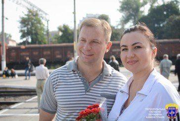 До Тернополя на «Фольк-фест» прибули учасники з Донеччини і Луганщини (ФОТО)
