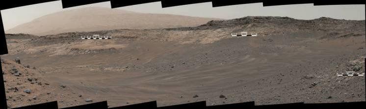Опубліковано панораму важкодоступного місця Марсу (ФОТО)