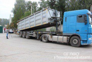 У Тернопільському районі під колесами вантажівки, намагаючись зупинити авто, загинув водій (ФОТО)