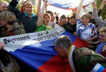 На Луганщині готують рух за приєднання до Росії