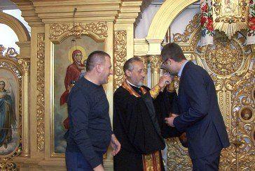 Тернополянин Володимир Бліхар отримав нагороду від церкви