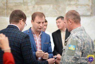 Медалі «Учасник АТО» отримали 30 військовослужбовців Зборівського району (ФОТО)