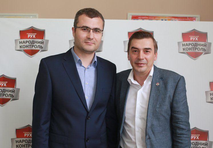 Активіст «Громадського руху «Народний контроль» тернополянин Володимир Бліхар отримав мандат довіри від однопартійців