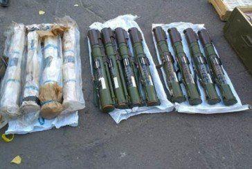 У Щасті біля колишнього навчального закладу міліції знайшли великий арсенал зброї (ФОТО)