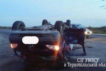 На Тернопільщині у трьох аваріях постраждали шестеро людей (ФОТО)