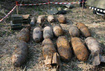 У Тернопільському районі, поблизу селища Великі Бірки, виявили дві 100-кілограмових авіабомби (ФОТО)
