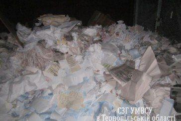 Близько 1800 необлікованих бюлетенів та 8 кліше вилучили правоохоронці у приміщенні однієї з друкарень Тернополя (ФОТО)