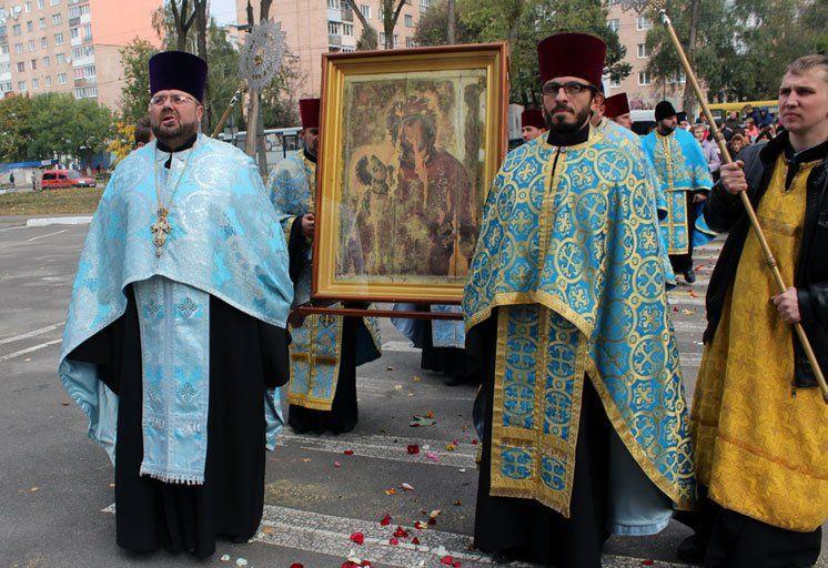 У Тернопіль привезли чудотворну ікону