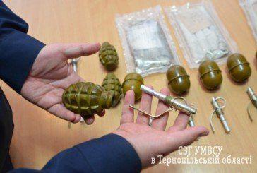 У Тернополі у військового знайшли арсенал зброї (ФОТО)