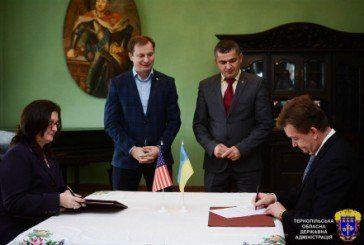 Національний заповідник «Замки Тернопілля» підписав угоду з Посольством США в Україні (ФОТО)