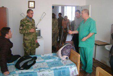 У Заліщицькому госпіталі пройшли лікування майже 50 воїнів АТО (ФОТО)
