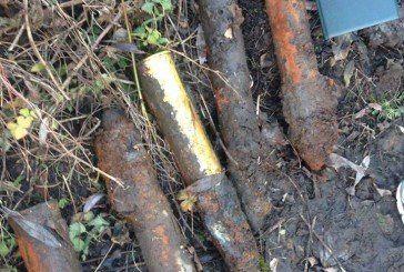 На Теребовлянщині виявили 35 артилерійських снарядів (ФОТО)
