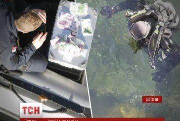 Австрієць виловив у річці сто тисяч євро (ВІДЕО)