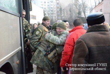 """Бійці спецбатальйону """"Тернопіль"""" повернулись з буремного Сходу (ФОТО)"""