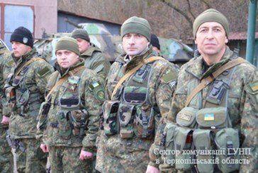45 бійців батальйону спецпризначення «Тернопіль» поїхали на 45 днів у чергове відрядження в зону АТО (ФОТО, ВІДЕО)