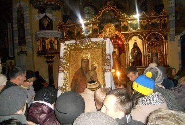 Ікону Матері Божої Зарваницької вшанували у Бережанах (ФОТО)