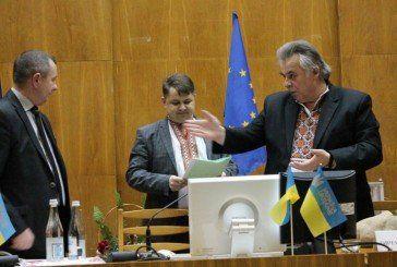 Як обирали голову Тернопільскої обласної ради (ФОТОРЕПОРТАЖ)