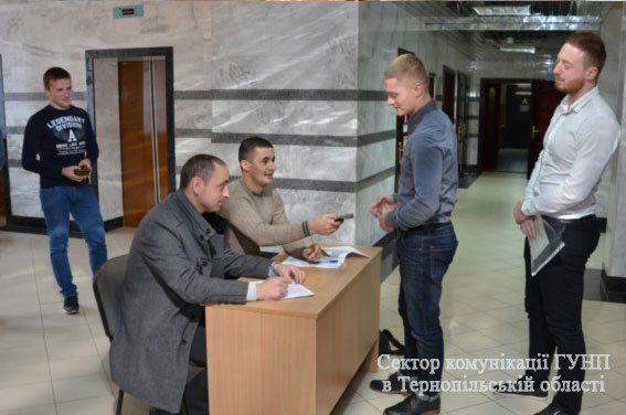 У Тернополі розпочався останній етап відбору у патрульну поліцію (ФОТО)