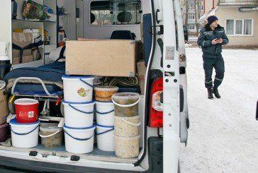 Тернопільcькі рятувальники завезли на Схід різдвяний гуманітарний вантаж для українських військових (ФОТО)