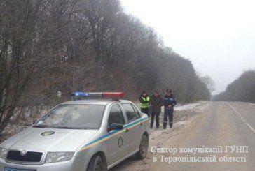 На Тернопільщині поліцейські врятували двох чоловік від переохолодження (ФОТО)