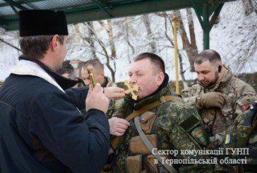"""Бійці батальйону """"Тернопіль"""" вирушили на Донбас у зону АТО (ФОТО, ВІДЕО)"""