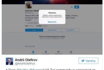 Twitter масово банить проукраїнські акаунти